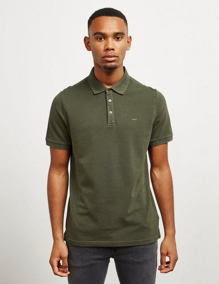 Michael Kors Garment Dyed Short Sleeve Pique Polo Shirt