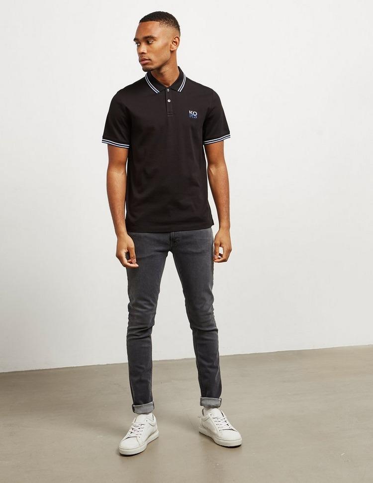 Michael Kors Tipped Short Sleeve Polo Shirt