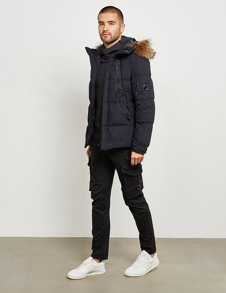 CP Company Fur Trim Parka Jacket