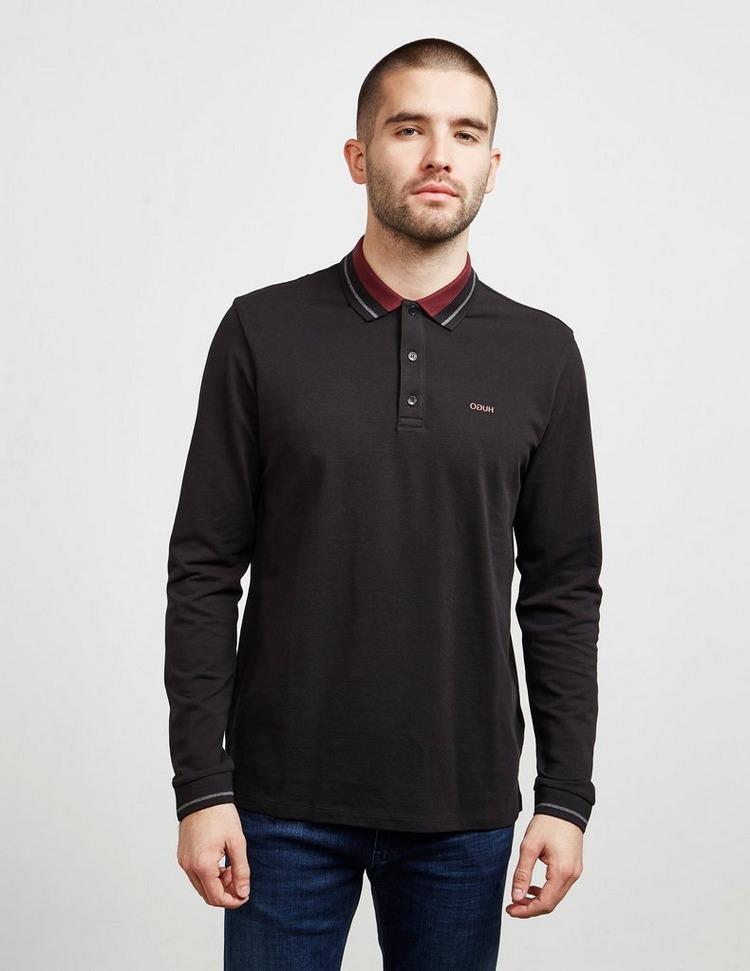 HUGO Donol Long Sleeve Polo Shirt