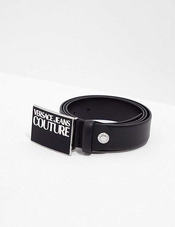 Versace Jeans Couture Plaque Logo Belt