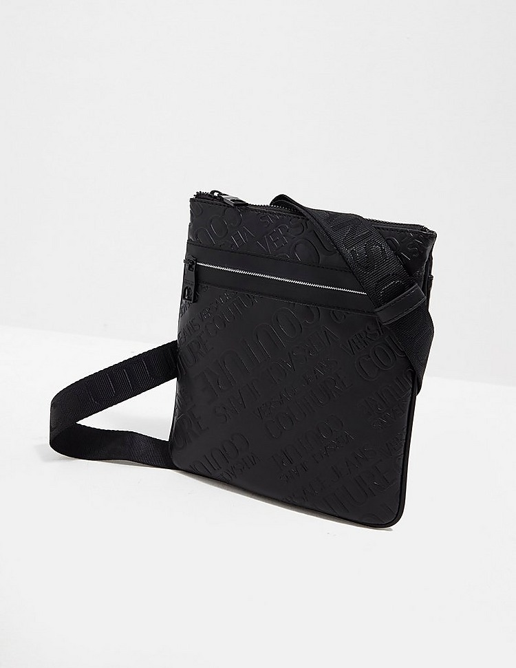 Versace Jeans Couture Embossed Cross Body Bag