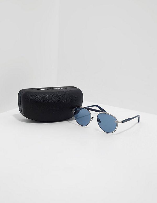 Salvatore Ferragamo Round Aviator Sunglasses