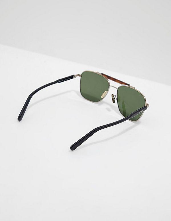 Salvatore Ferragamo Square Aviator Sunglasses