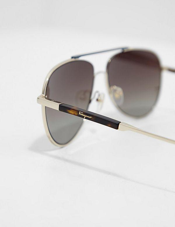 Salvatore Ferragamo Gradient Aviator Sunglasses
