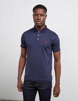 Polo Ralph Lauren Pima Polka Dot Short Sleeve Polo Shirt
