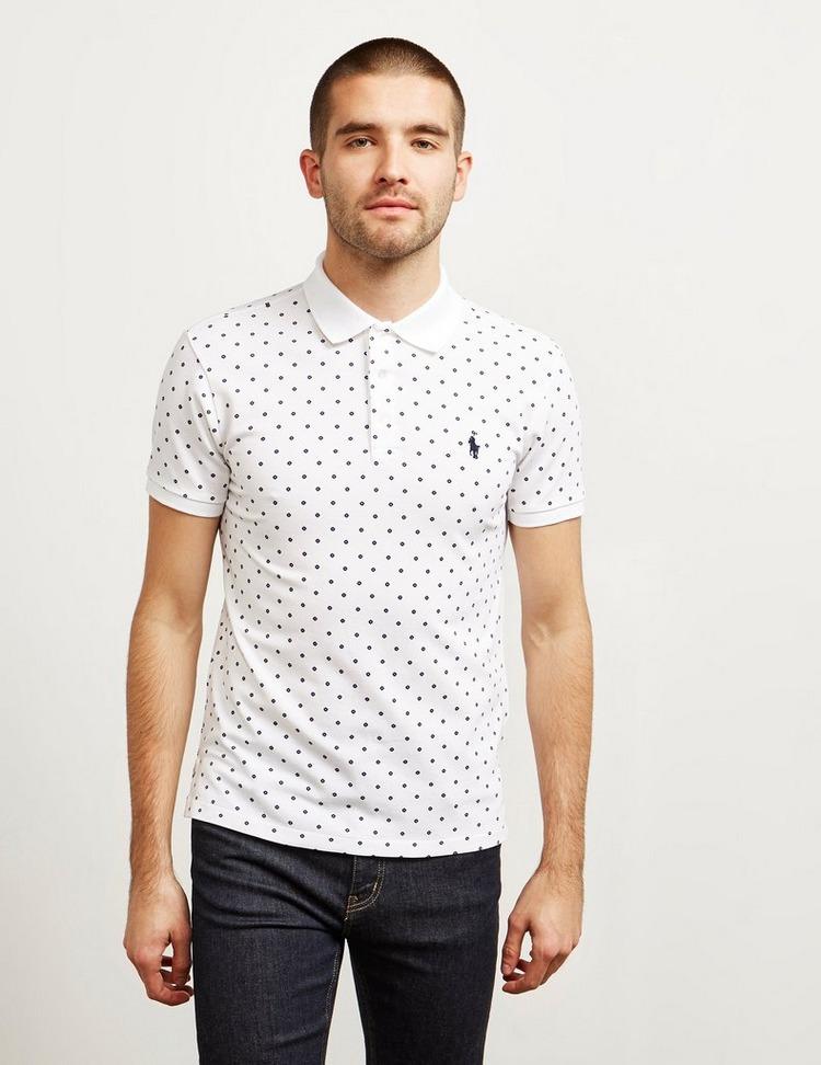 Polo Ralph Lauren Mesh All Over Print Short Sleeve Polo Shirt