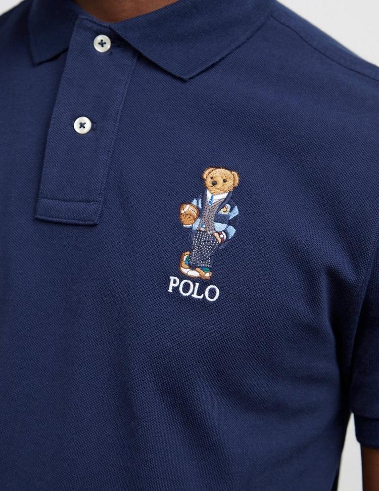 Polo Ralph Lauren Large Bear Short Sleeve Polo Shirt