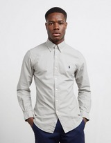 Polo Ralph Lauren Garment Dyed Long Sleeve Slim Shirt