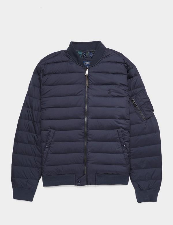 Polo Ralph Lauren Lightweight Down Padded Bomber Jacket