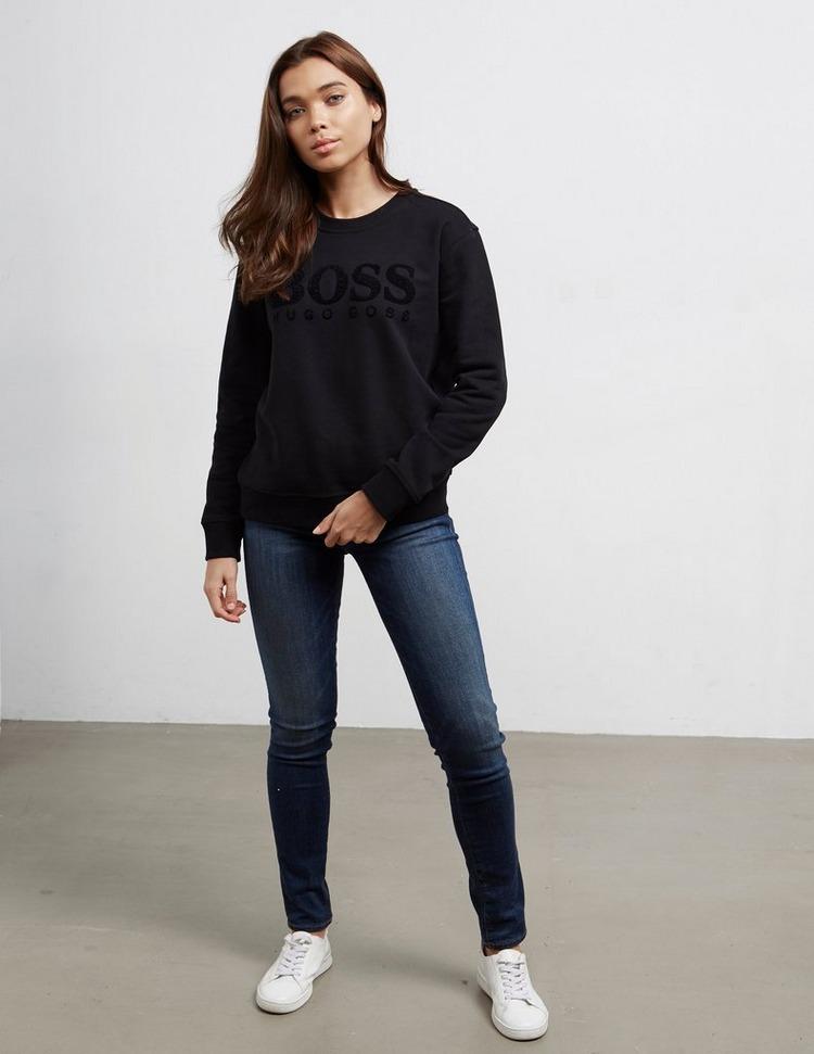 BOSS Sequin Logo Sweatshirt