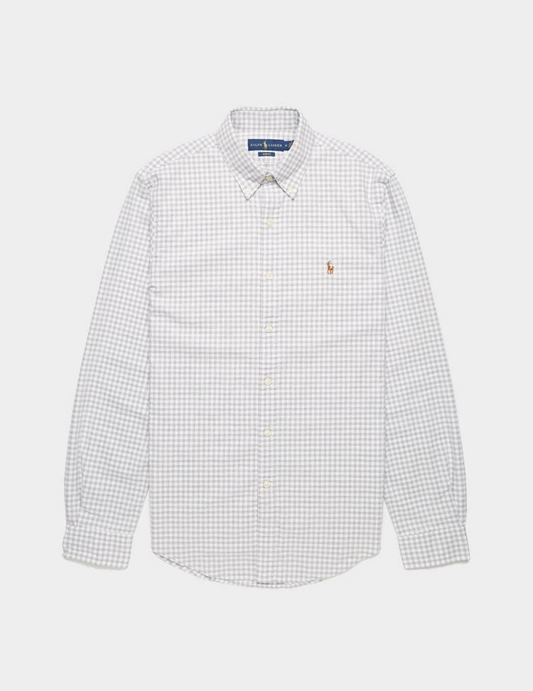 Polo Ralph Lauren Gingham Long Sleeve Oxford Shirt