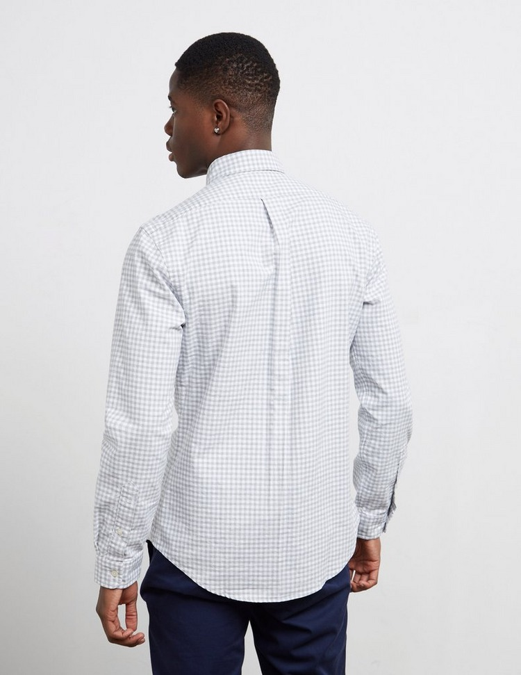 Polo Ralph Lauren Gingham Long Sleeve Oxford Shirt