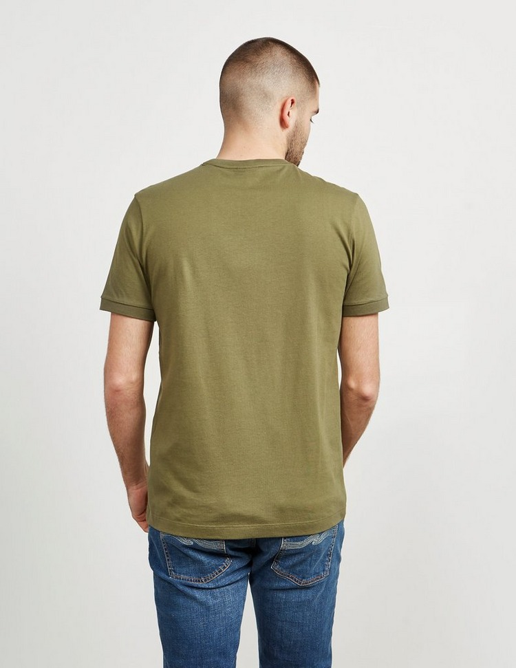 Paul and Shark Central Logo Short Sleeve T-Shirt