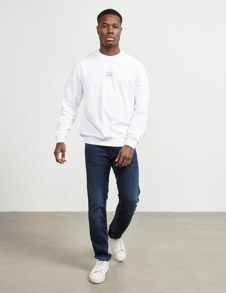 Paul and Shark Central Logo Crew Sweatshirt