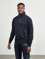 Paul and Shark Mock Neck Half Zip Sweatshirt