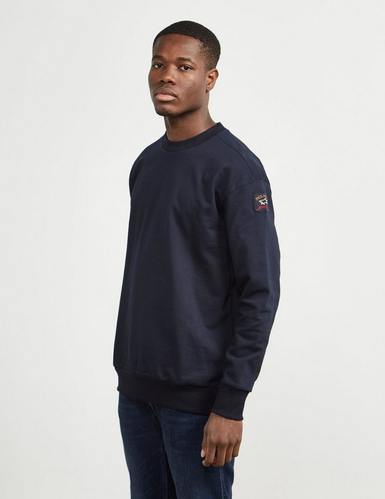Paul and Shark Vinatage Logo Crew Sweatshirt