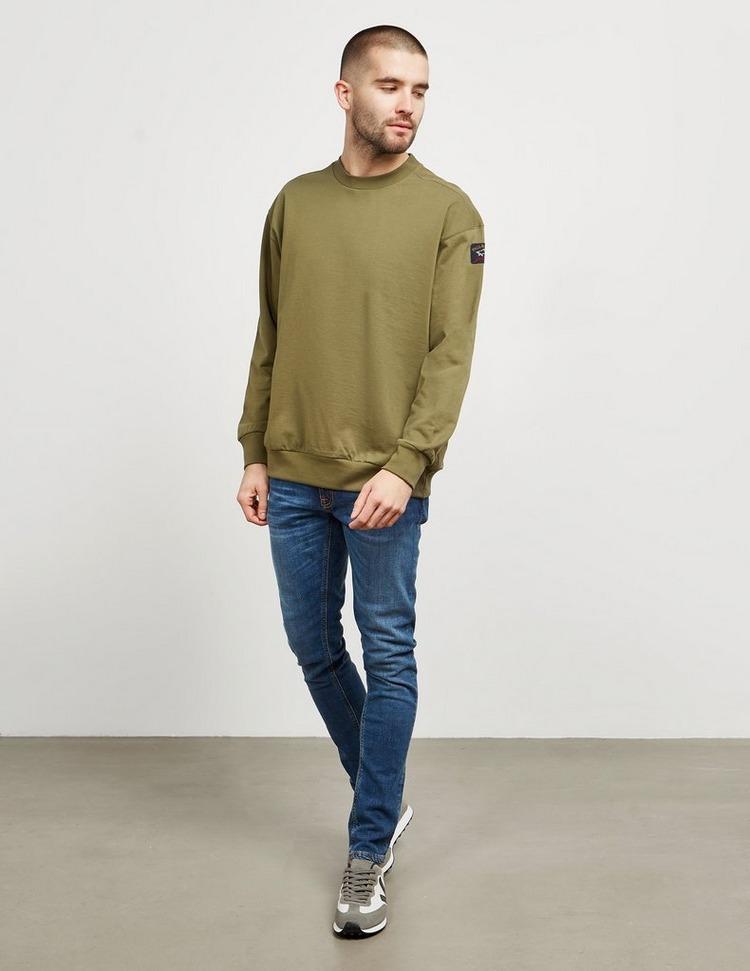 Paul and Shark Vinatage Logo Crew Sweatshirt