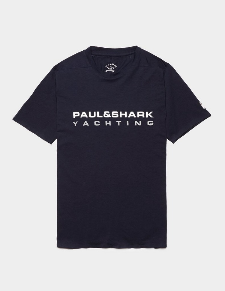 Paul and Shark Reflective Yachting Short Sleeve T-Shirt