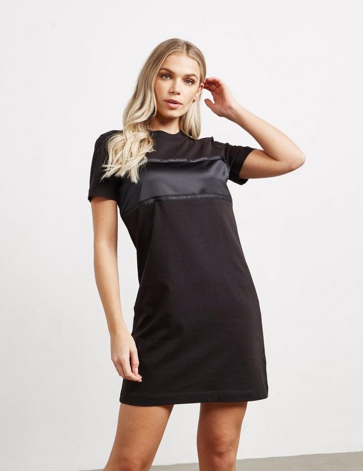 Calvin Klein Jeans Tape Satin Dress