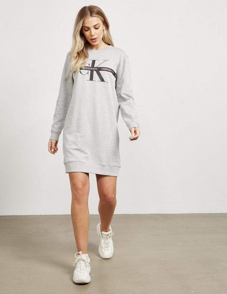Calvin Klein Jeans Tape Monogram Dress