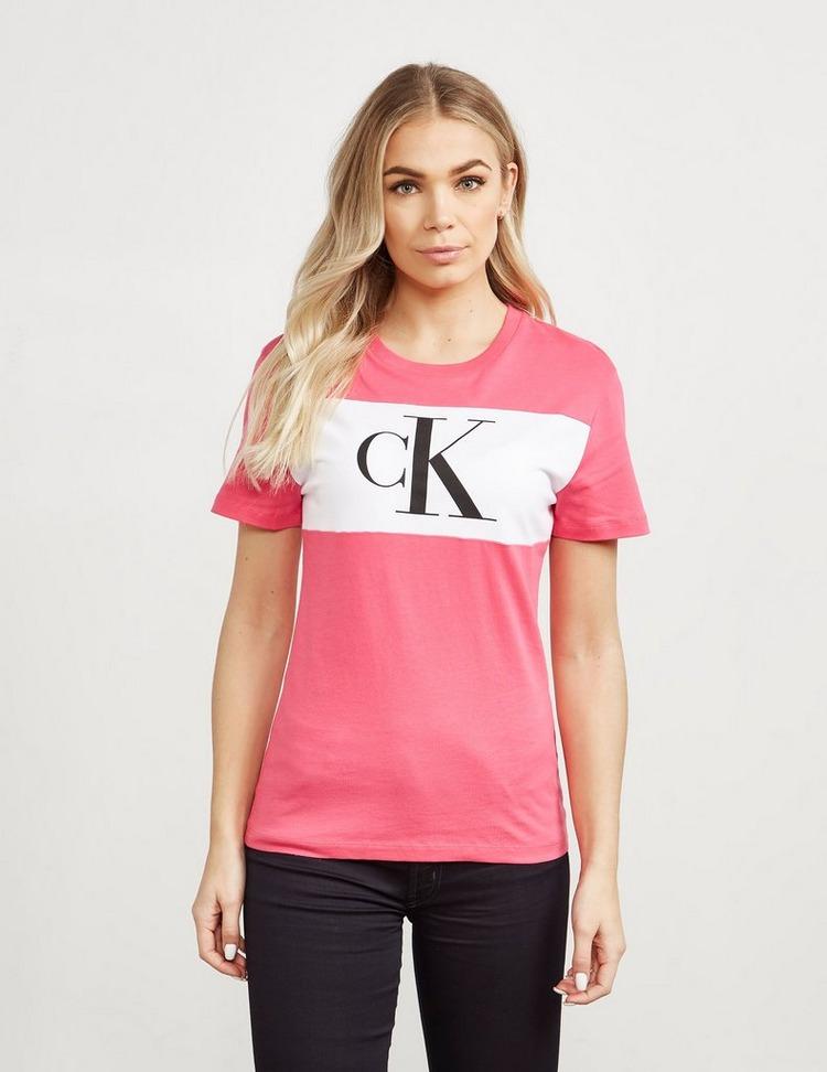 Calvin Klein Jeans Block Monogram Short Sleeve T-Shirt