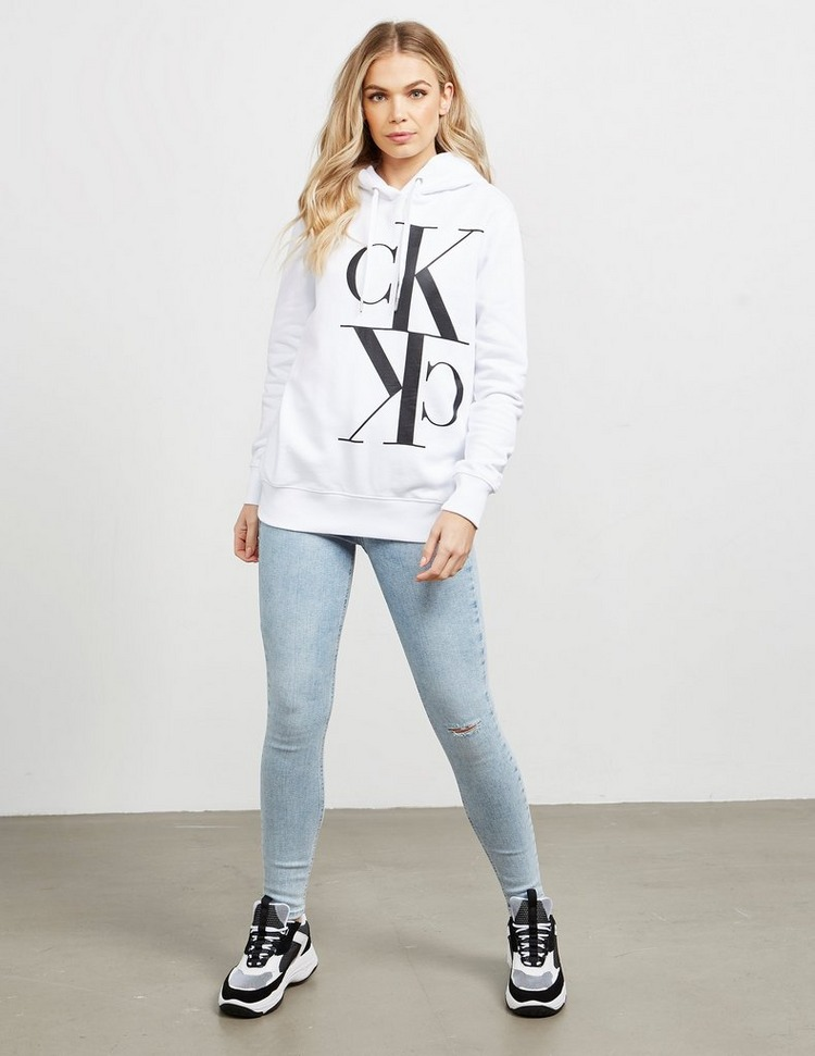 Calvin Klein Jeans Mirror Logo Hoodie