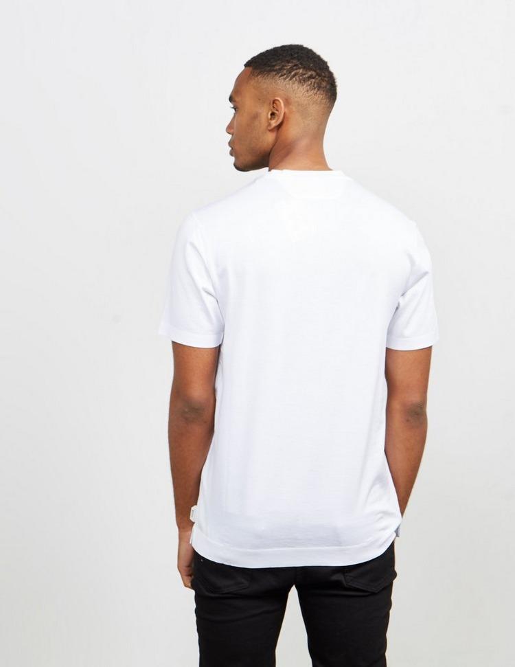 Z Zegna Graphic Check Short Sleeve T-Shirt