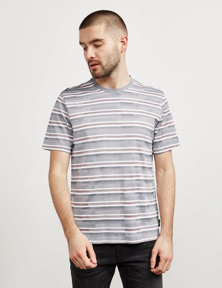 Z Zegna Stripe Short Sleeve T-Shirt