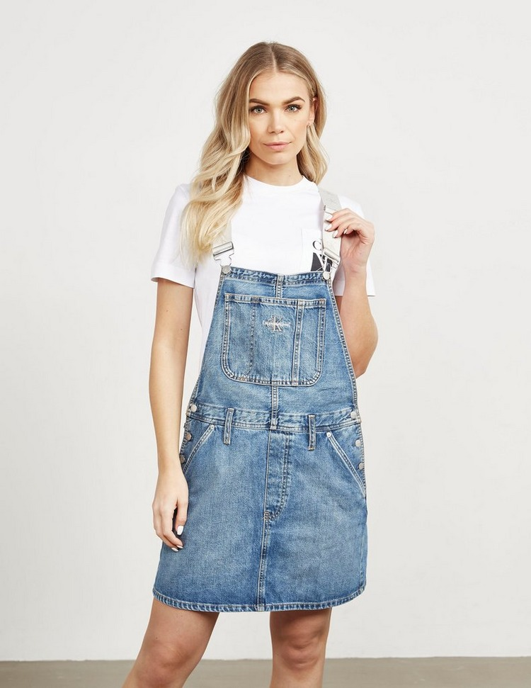 Calvin Klein Jeans Icon Dungaree Dress