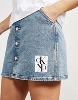 Calvin Klein Jeans Button Down Skirt