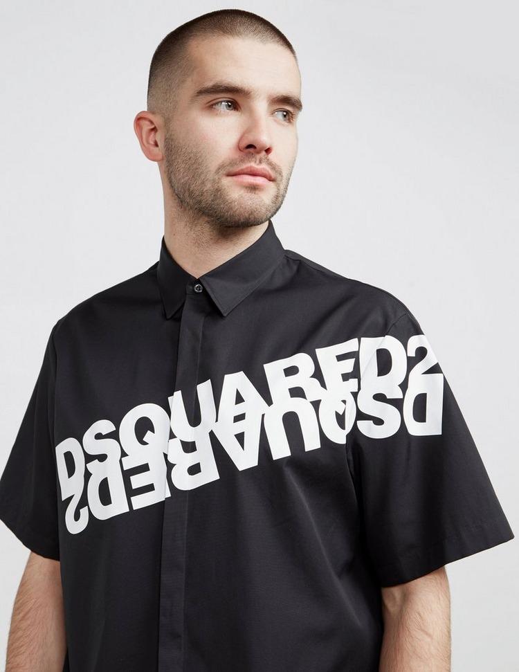 Dsquared2 Mirror Logo Short Sleeve Shirt