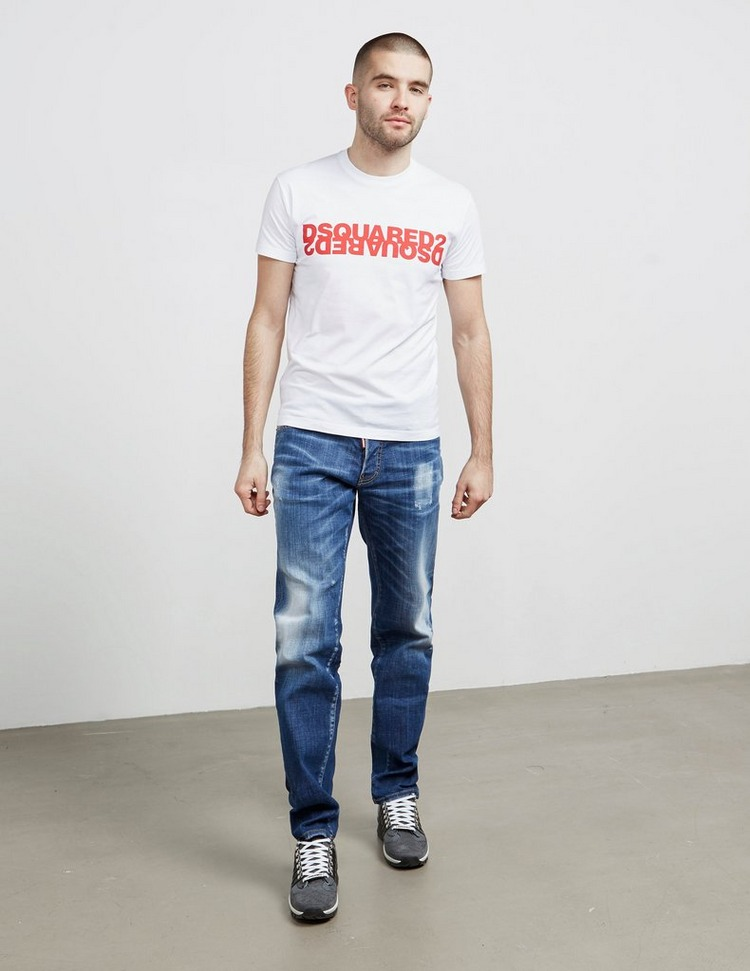 Dsquared2 Mirror Logo Short Sleeve T-Shirt