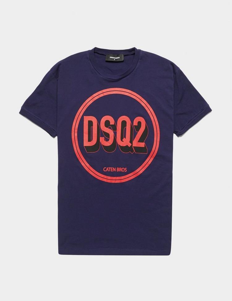 Dsquared2 Circle Logo Short Sleeve T-Shirt