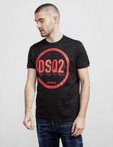 Dsquared2 Circle Logo Short Sleeve T-Shirt