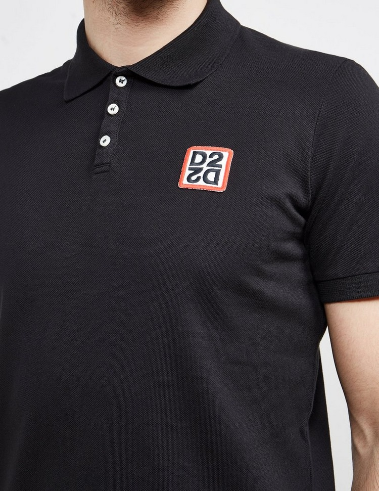 Dsquared2 Mirror Patch Short Sleeve Polo Shirt