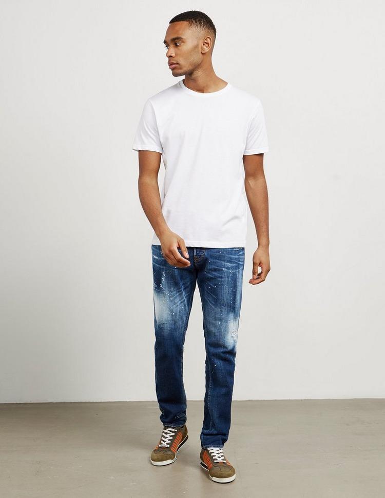 Dsquared2 Mercury Splat Slim Jeans
