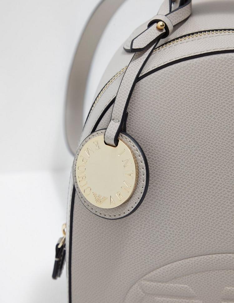 Emporio Armani Embossed Eagle Backpack