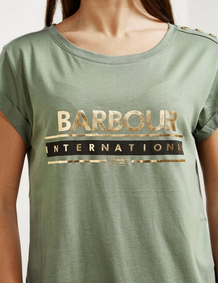 Barbour International Apex Large Logo Short Sleeve T-Shirt
