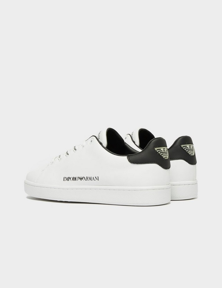 Emporio Armani Logo Lace Up Trainers