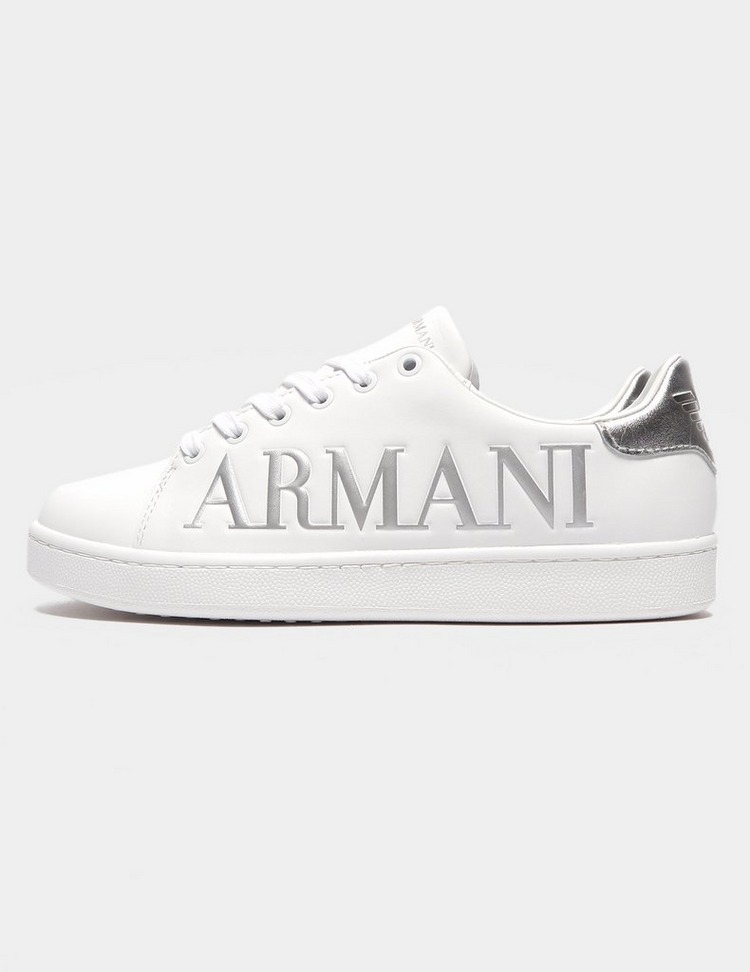 Emporio Armani Large Logo Trainers