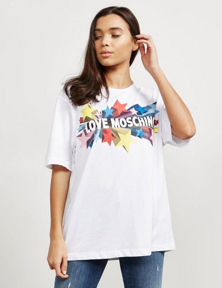 Love Moschino Star Logo Short Sleeve T-Shirt