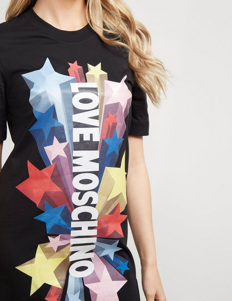 Love Moschino Star T-Shirt Dress