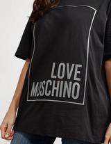Love Moschino Box Logo Short Sleeve T-Shirt