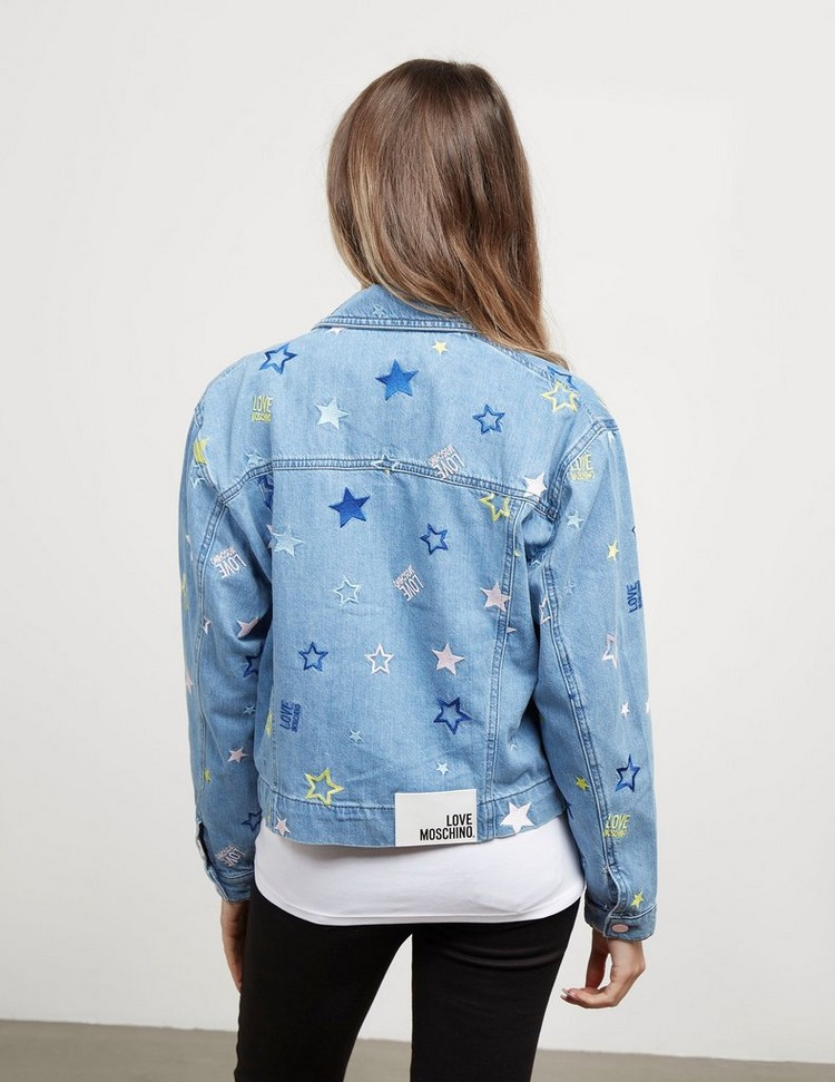 Love Moschino Star Denim Jacket
