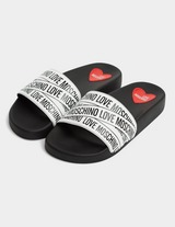 Love Moschino Tape Slides