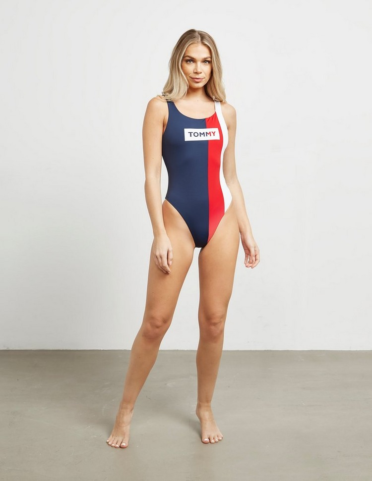 Tommy Hilfiger Swim Logo Swimming Costume