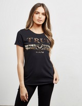 True Religion Sequin Logo Short Sleeve T-Shirt