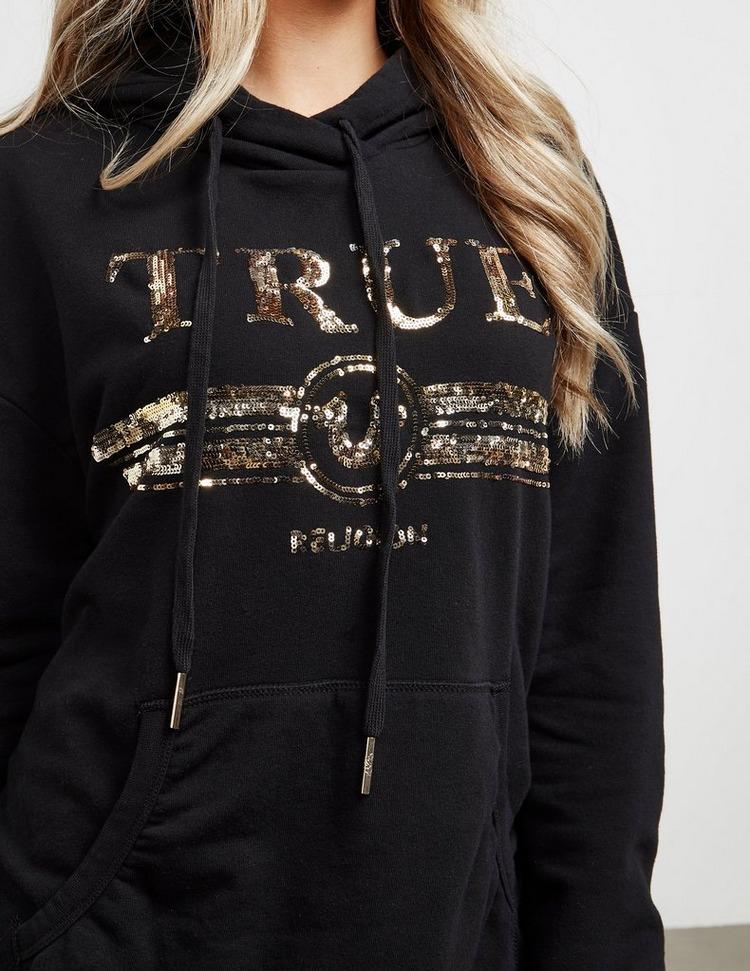 True Religion Sequin Logo Hoodie