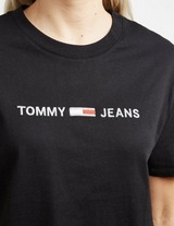 Tommy Jeans Flag Box Short Sleeve T-Shirt